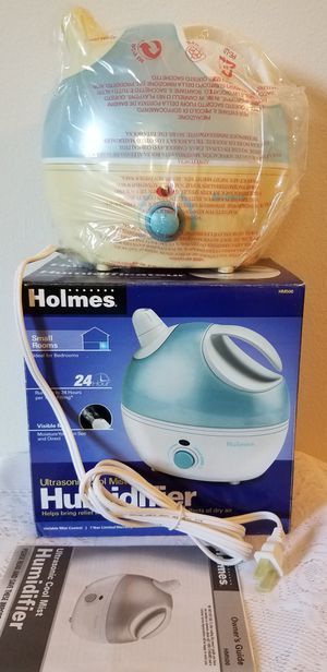 New Holmes Ultra Sonic Cool Mist Humidifier for Sale in Walnut Creek, CA