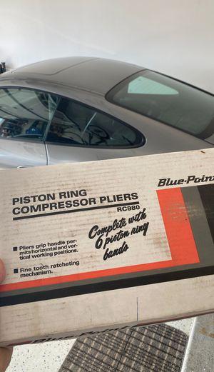 Piston ring compressor pliers for Sale in Algonquin, IL
