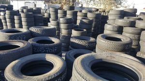 Set of use tires and we also have brand new for Sale in Las Vegas, NV