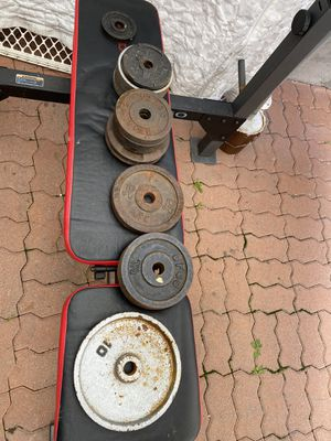 Weights and bench for Sale in Pomona, CA