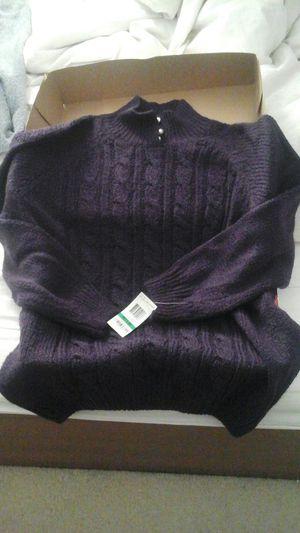 Brand new sweater from Macy - Karen Scott Petites for Sale in Woodbridge, VA