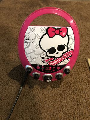 Kids stereo karaoke with built-in CD player for Sale in Orlando, FL