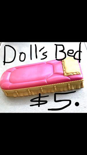 MATTEL DOLLS BED for Sale in Cudahy, CA