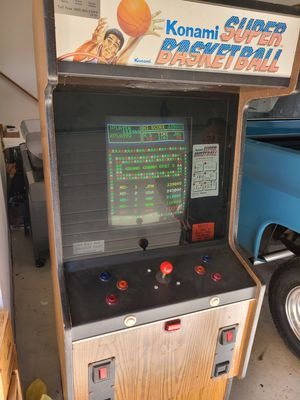 Working arcade game super basketball for Sale in Valley City, OH