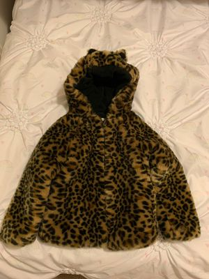 Gap fur faux for girls 5 year for Sale in Maple Valley, WA