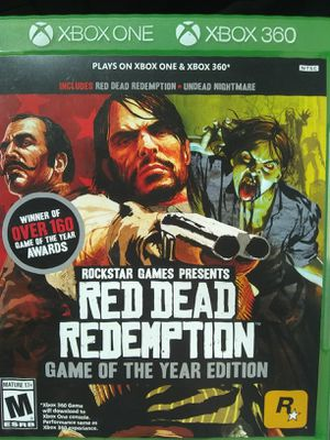 Red dead redemption 1 and undead nightmare for Sale in Denver, CO