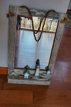 Beach themed mirror for Sale in Lynchburg, VA