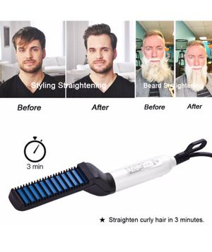 lectric Hair Comb for Men, Beard Straightening Comb for Sale in Fresno, CA