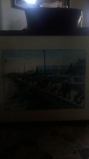 Large VA BEACH FRAMED PICTURE for Sale in Newport News, VA