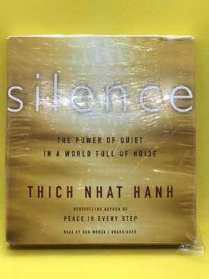 Silence Audio book Thick Nhat Hanh for Sale in South Pasadena, CA