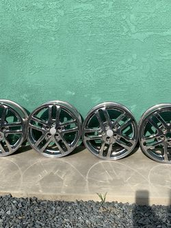 Wheels For Sale. 16x17 Chevy Pattern for Sale in Dinuba,  CA