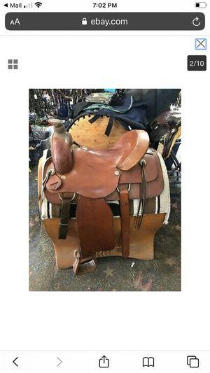 "16"" Texas saddlery roping saddle for Sale in Tulalip, WA"