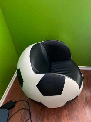 Kids soccer ball chair for Sale in Houston, TX