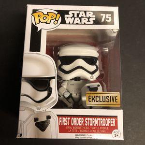 Funko Pop - Star Wars - First Order Stormtrooper for Sale in San Antonio, TX