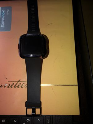 Fitbit Versa used once otherwise new for Sale in Lacey, WA