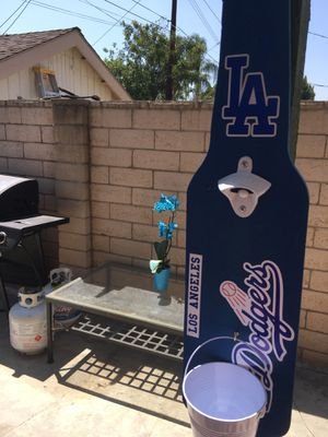 L.A. Dodgers Flags, L.A. Dodgers Beer bottle opener, L.A. Dodgers Hats, L.A. Dodgers Jerseys, L.A. Dodgers Outdoor patio. for Sale in La Habra Heights, CA