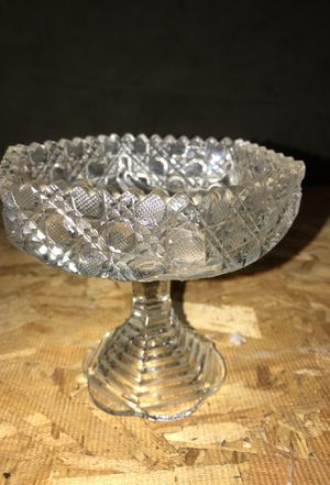 Crystal candy dish for Sale in Portland, OR