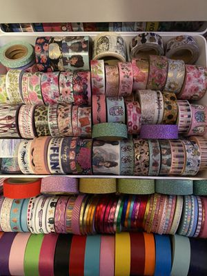 Over 100 Rolls of Washi Tape for Sale in Los Angeles, CA