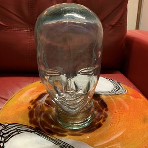 2 vintage clear glass head mannequin female. $180 OBO for Sale in Washington, DC