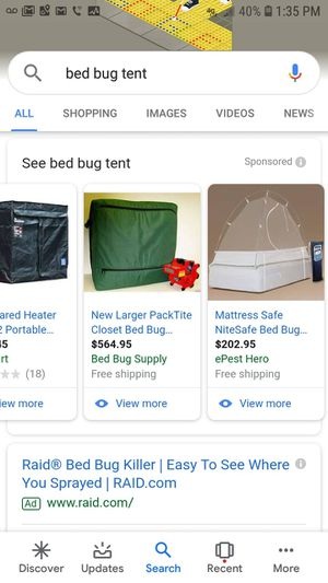 Brand new bed bug tent for Sale in New Hartford, CT