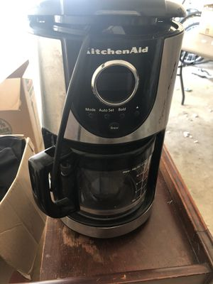Kitchen Aid 10 cup coffee maker for Sale in Magnolia, TX