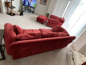 FREE Red Sofa and Chair for Sale in Atlanta, GA