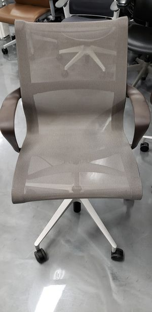 SALE! LIKE NEW! HERMAN MILLER SETU CHAIRS ALL MESH SUPER LIGHT WEIGHT AND VERY STRONG 300LBS LIMIT SWIVEL HEIGHT ADJUSTMENT RECLINE RETAILS $800 for Sale in Alhambra, CA