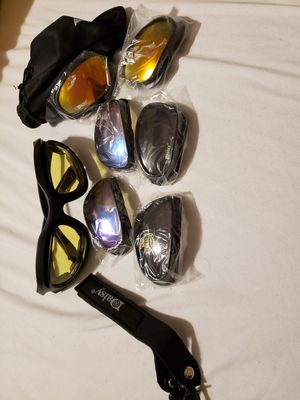 Used, New daisy sunglasses with many lenses for Sale for sale  Greer, SC