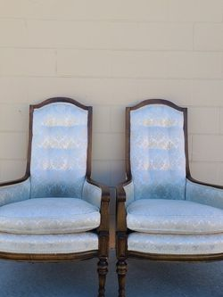 Victorian Wingback Chairs for Sale in Huntington Beach,  CA