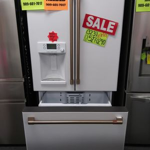 KEURIG WHITE FRENCH DOOR REFRIGERATOR ☕WITH COFFEE DISPENSER☕ for Sale in Corona, CA