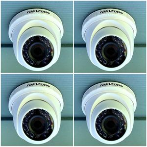 4 1080p Security cameras with instalation.. hablo espanol for Sale in Fort Worth, TX