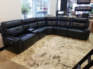 New power reclining sectional sofa tax included free delivery for Sale in Hayward, CA