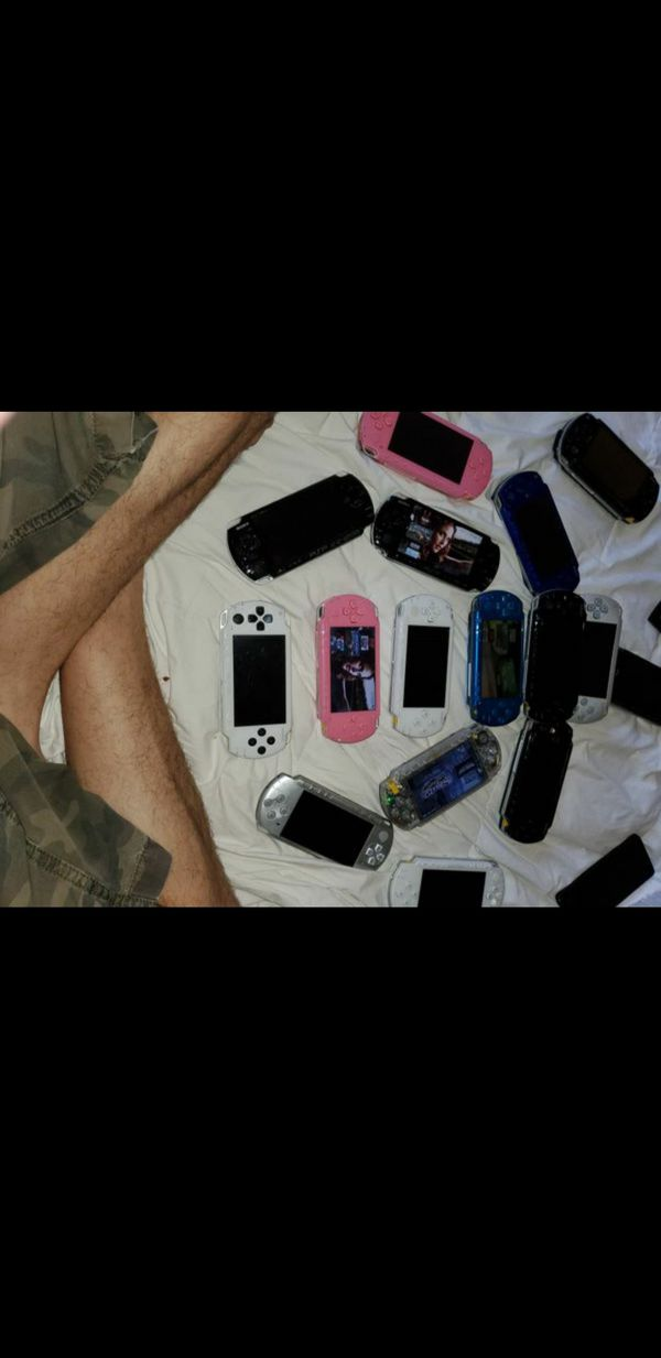 PSP with tons of games awsome