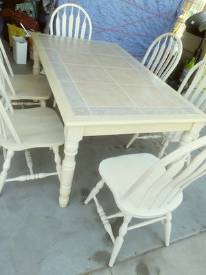 dining table and 6 chairs for Sale in Mesa, AZ