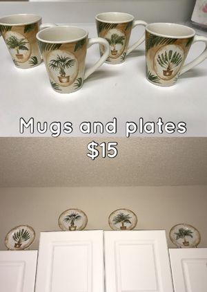 Wine Glasses, Shot Glasses, & Mugs/Plates for Sale in Tampa, FL