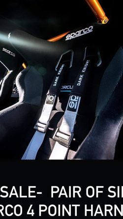 Sparco 4 Point Harnesses for Sale in Vancouver,  WA