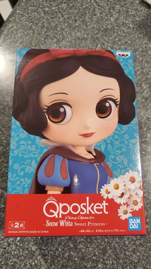 Q Posket Disney Characters Blanche Sweet Princess Figures Banpresto for Sale in Federal Way, WA