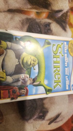 Shrek VHS for Sale in Phoenix, AZ