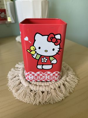 Hello Kitty pencil holder for Sale in Lakewood, CA