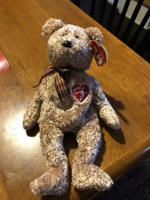 Ty Beanie Babies Teddy Bear New with Tag for Sale in Trenton, NJ