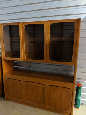 MCM Mid Century 2 Piece Cabinet for Sale in Chicago, IL