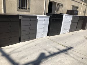 Dressers 5 drawer * we deliver * for Sale in Hawthorne, CA
