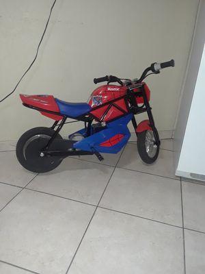 Spiderman motocicleta eléctrica de niños de 6 a12 años for Sale in Hialeah, FL