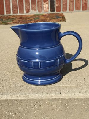 Longaberger ceramic pitcher for Sale in Amherst, OH