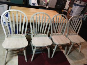 Kitchen table and four chairs for Sale in Tinton Falls, NJ