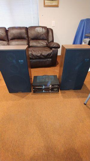Sanyo SS-686 Speaker & Amp Bundle for Sale in Alameda, CA