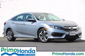 2017 Honda Civic Sedan for Sale in San Carlos, CA