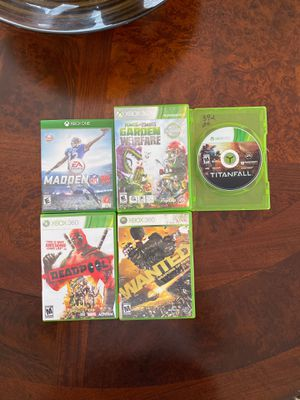 Xbox 360 games bundle for Sale in Valrico, FL