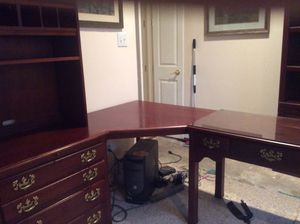 Large corner office desk for Sale in Euless, TX