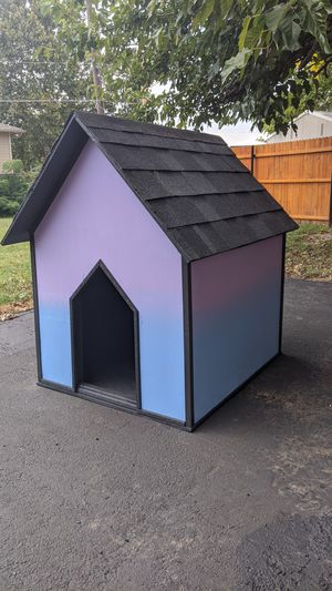 PawPlaza Traditional Custom Doghouse for Sale in Norman, OK